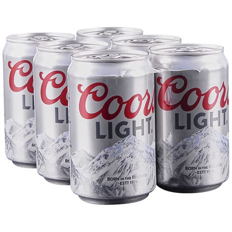 content of coors light applejack coors light 6pk 8 oz cans