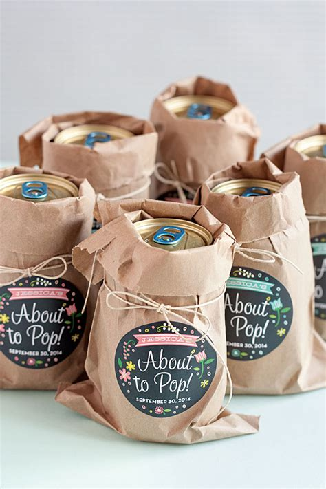Giveaways For Baby Shower - 3 easy baby shower favor ideas evermine occasions