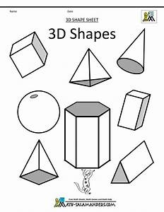 How To Draw 3d Simple Geometric Shapes | Drawing and ...
