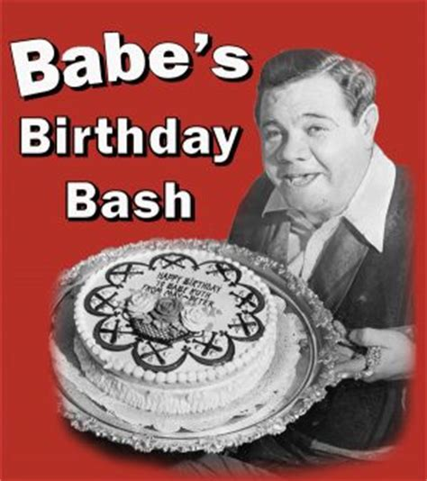 babes birthday bash babe ruth birthplace museum