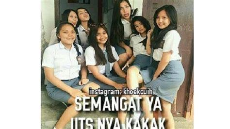 meme meme pelajar sma pakai seragam ketat  rok nanggung