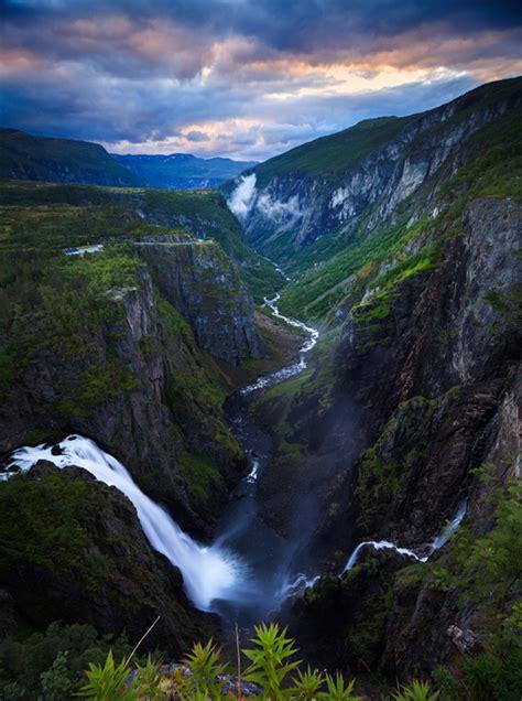 Vøringfossen Hordaland Fylke Norway Norwegian