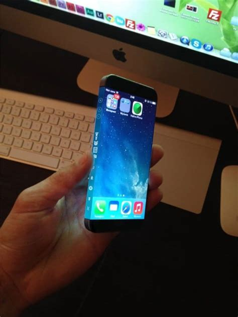 new iphone 6 concept sports appealing three sided display