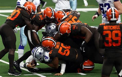 Browns: 5 best defensive players a quarter way through the ...