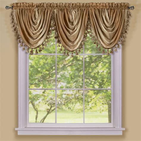 Kitchen Scarf Valance by Multi Color Striped Modern Semi Sheer Window Curtain Drape