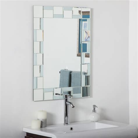 decor wonderland quebec modern bathroom mirror lowes canada