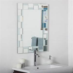Decor Wonderland SSM310710 Quebec Modern Bathroom Mirror