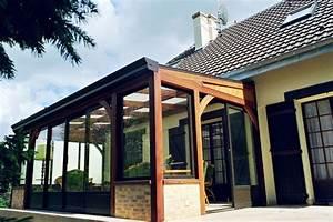 Veranda En Bois A Faire Soi Meme : veranda bois avantages et inconv nients de la veranda en ~ Premium-room.com Idées de Décoration