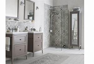 10 salles de bains avec carreaux ciments l39atelier agite With salle de bain avec carreaux de ciment