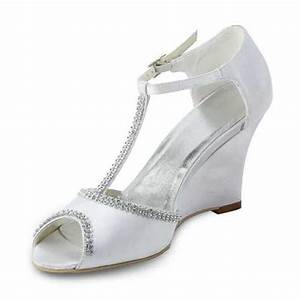 bridal shoes wedges uk With wedding dress shoes wedges