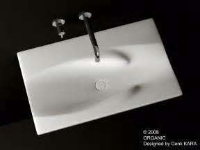 designer bathroom sink cenk kara designer organic sink design
