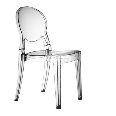 chaise polycarbonate transparente chaises design transparente table de lit