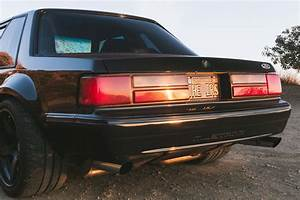 1988 Ford Mustang Rear End - Photo 248456132 - Matt Farah's Widebody Mustang is the Ideal Blend ...