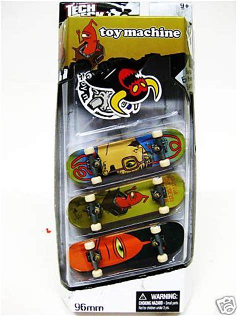 Tech Deck Machine by Tech Deck 3 Pack Finger Board 96mm Skateboard Toymachine