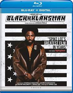 BlacKkKlansman DVD Release Date November 6, 2018
