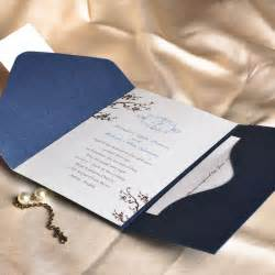 wedding invitations sets floral decor monogram blue pocket discount wedding invitation sets ewpi013 as low as