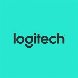 logitech logo ciano