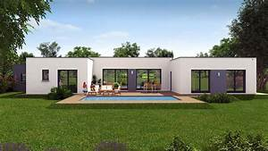 Maison Moderne Sans Toit Plat