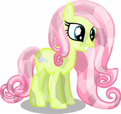 Pony Crystal Ponies Flower Deviantart Blossom Friendship