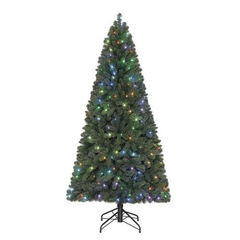 menards artificial trees enchanted forest 174 7 prelit chesterfield spruce artificial tree at menards 174