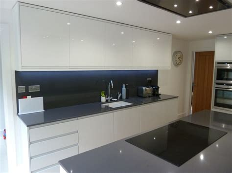 kitchen backsplash tile designs pictures white gloss and dove grey kitchen fitted in welwyn