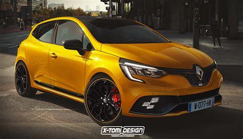 Renault Clio R S 2019 un rendering sportivissimo renault clio r s 2019