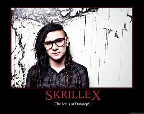 Skrillex Meme - skrillex the jesus of dubstep random poster