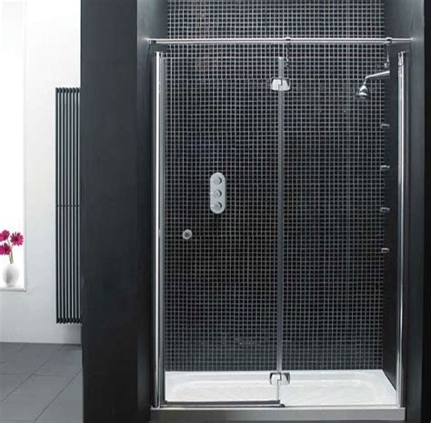 clean shower doors keeping your glass shower door clean a secret weapon apartment therapy