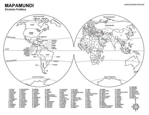 Mapa mundi con nombres blanco yImagui