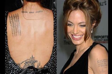 tatouages jessica alba relance leternel debat  voir