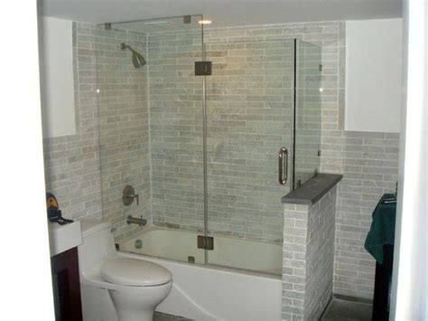 Tub Shower Combo One by 42 Best Images About Bathroom Tub Shower Ideas On