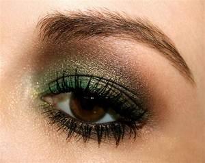 Maquillage Pour Yeux Marron : id es maquillage des yeux 60 id es avec les couleurs d t ~ Carolinahurricanesstore.com Idées de Décoration