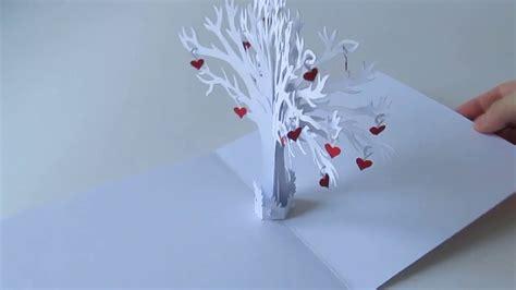 family love tree pop  card youtube