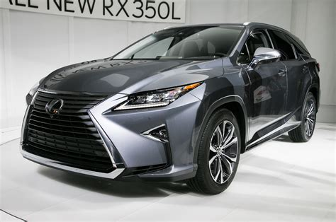 2018 Lexus Rx L First Look More Space For The Clan