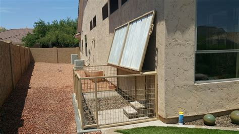 dog kennel custom kennels coyote proof california