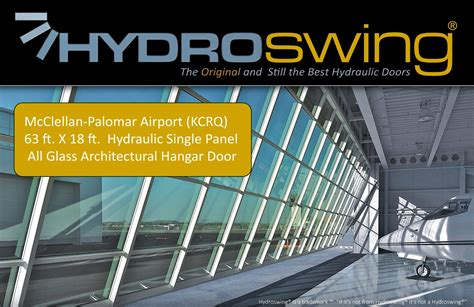 hydroswing news  lowest maintenance door
