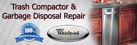 whirlpool trash compactor repair