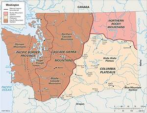 Gallery For > Cascade Mountains Location Map