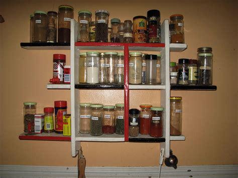 Ideas Dazzling Wall Spice Rack For Kitchen Storage