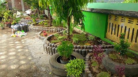 contoh taman minimalis depan kelas