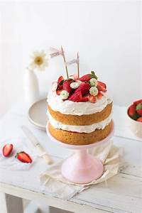 Strawberry Cream Cake Pretty Simple Sweet