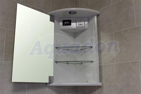 Bathroom Corner Cabinets With Mirror by Bathroom Mirror Corner Illuminated Cabinet White