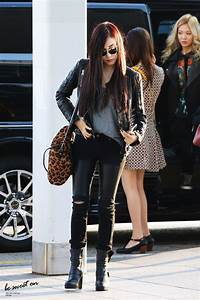 SNSD Tiffany airport fashion - All K Girls