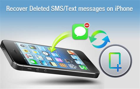 how to get back deleted photos on iphone wrongly deleted text messages on iphone6 5 5s 4s can be