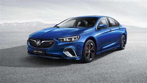 buick china releases first images of 2018 regal gs