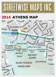 Street Map Athens Greece