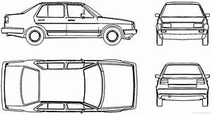 Blueprints  U0026gt  Cars  U0026gt  Volkswagen  U0026gt  Volkswagen Jetta Mk 2