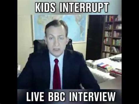 Bbc Memes - bebe interrumpe entrevista de bbc kids interrump live bbc interview youtube