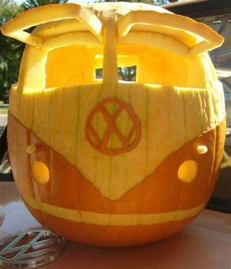 Free Minion Pumpkin Carving Stencil by Halloween Fun Funny Volkswagen Bus Jack O Lantern Cool