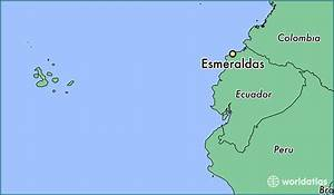 Hotels in south america location map of ecuador where is esmeraldas ecuador esmeraldas esmeraldas map worldatlas gumiabroncs Image collections